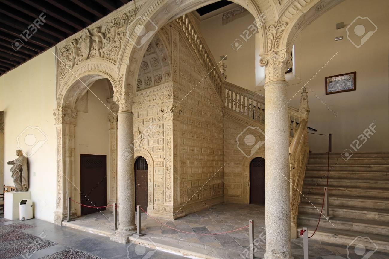 Museo De Santa Cruz.Toledo Spain May 08 2017 Museo De Santa Cruz Museum Of Stock