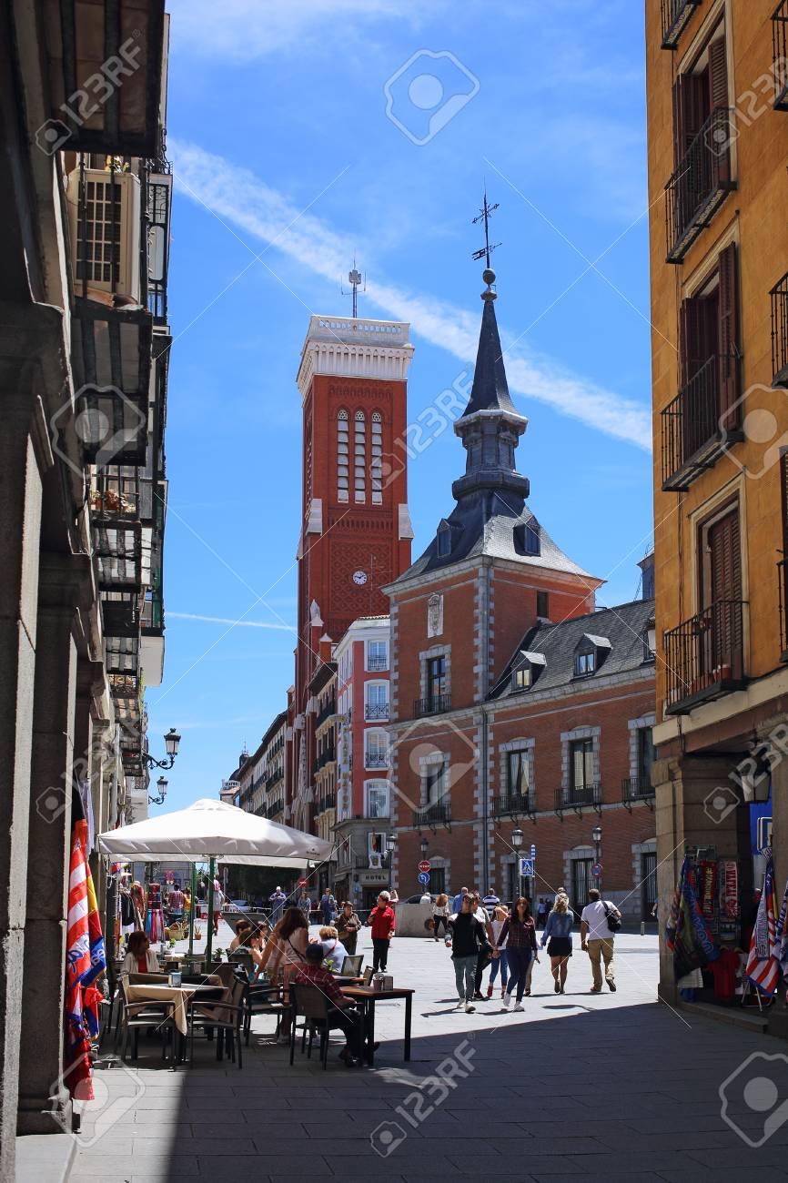 Madrid Espana 7 De Mayo De 2017 Ministerio De Asuntos Exteriores