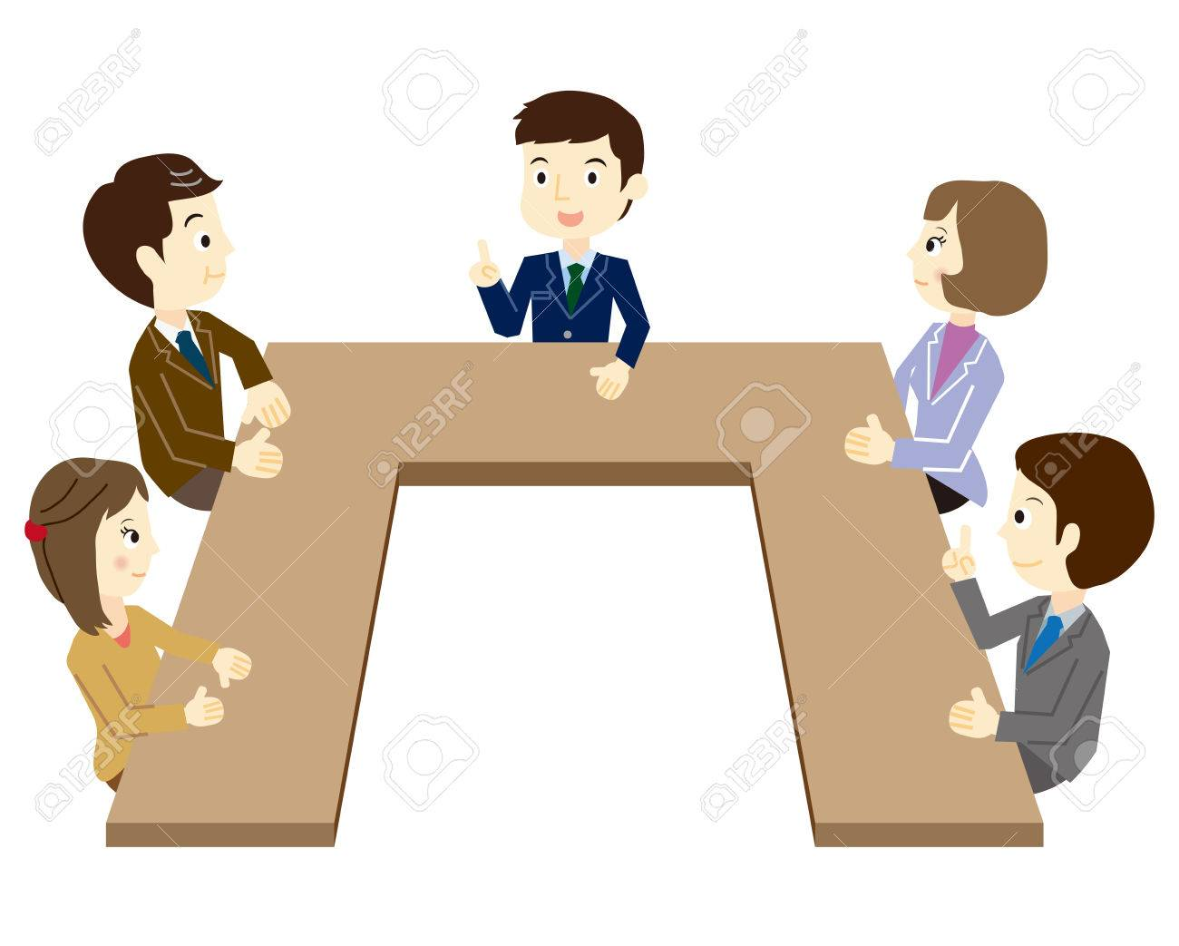 People who have a meeting - 37103160