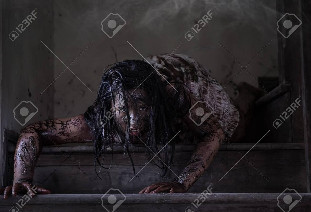 maison hantee zombie