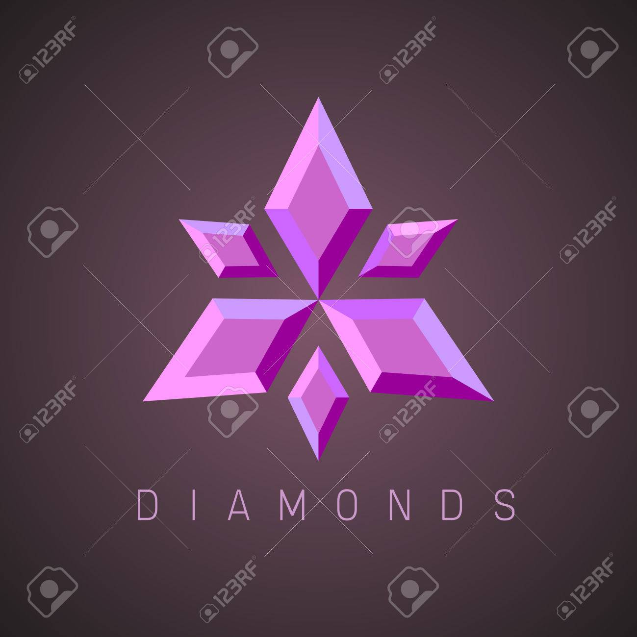 Ruby Gems Logo Template Royalty Free Cliparts, Vectors, And Stock ...