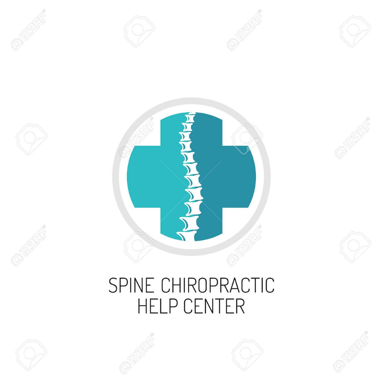 Chiropractic Logo Spine