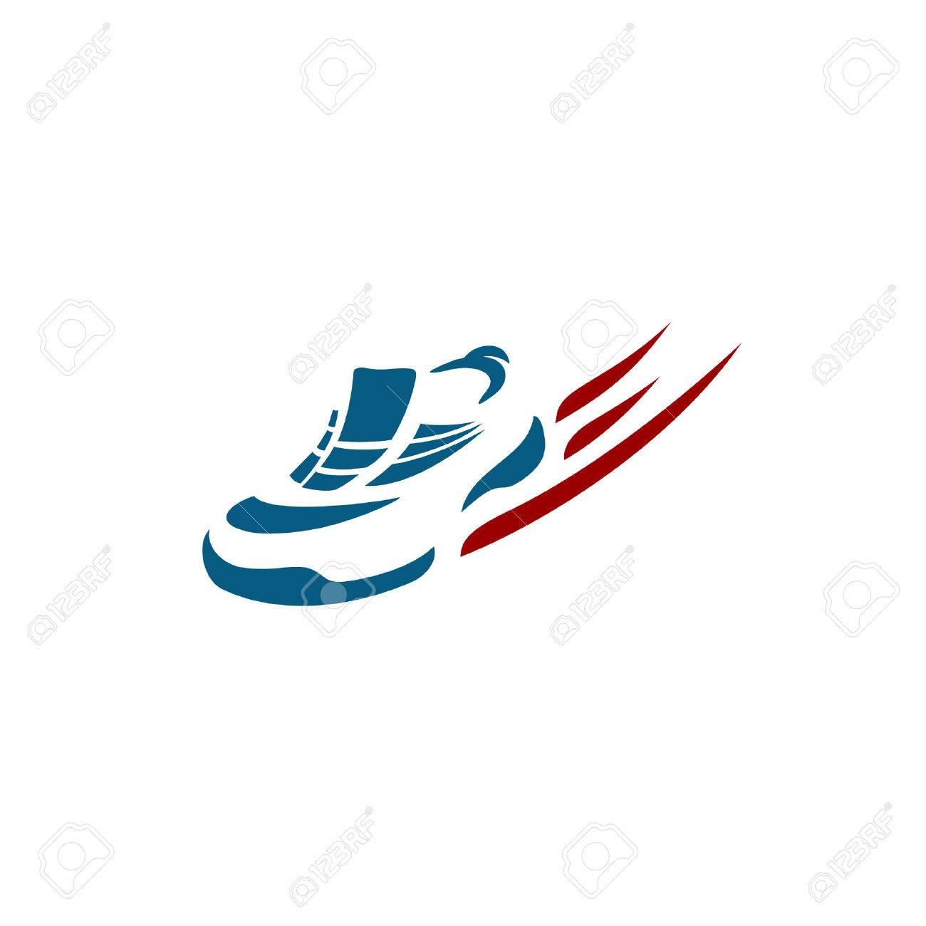 Logo Chaussure Accélérer La Sport Clip Libres De Art Running XfZxZnO