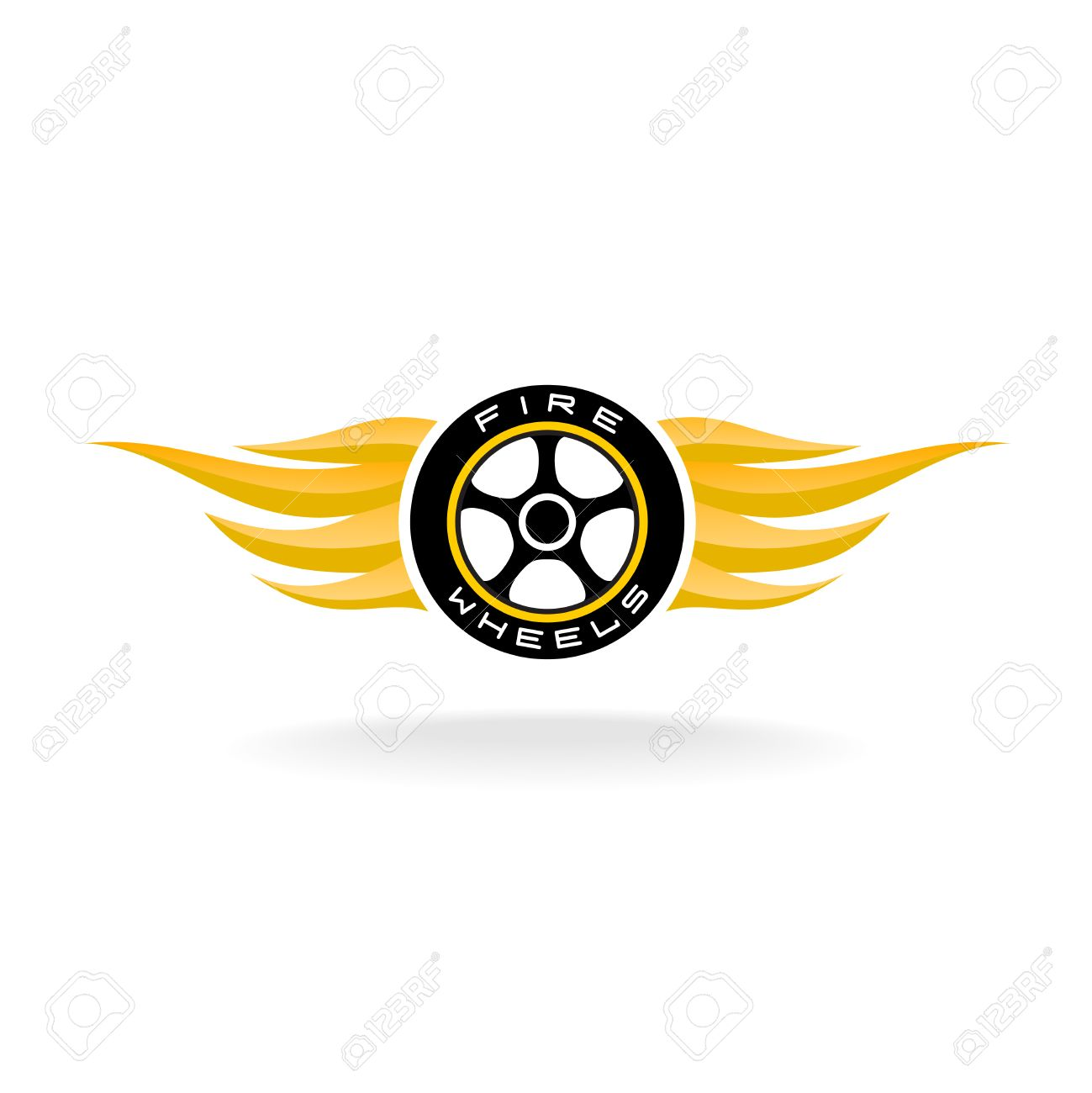 Auto car whell with fire wings icon royalty free cliparts vectors auto car whell with fire wings icon stock vector 43565335 biocorpaavc Choice Image