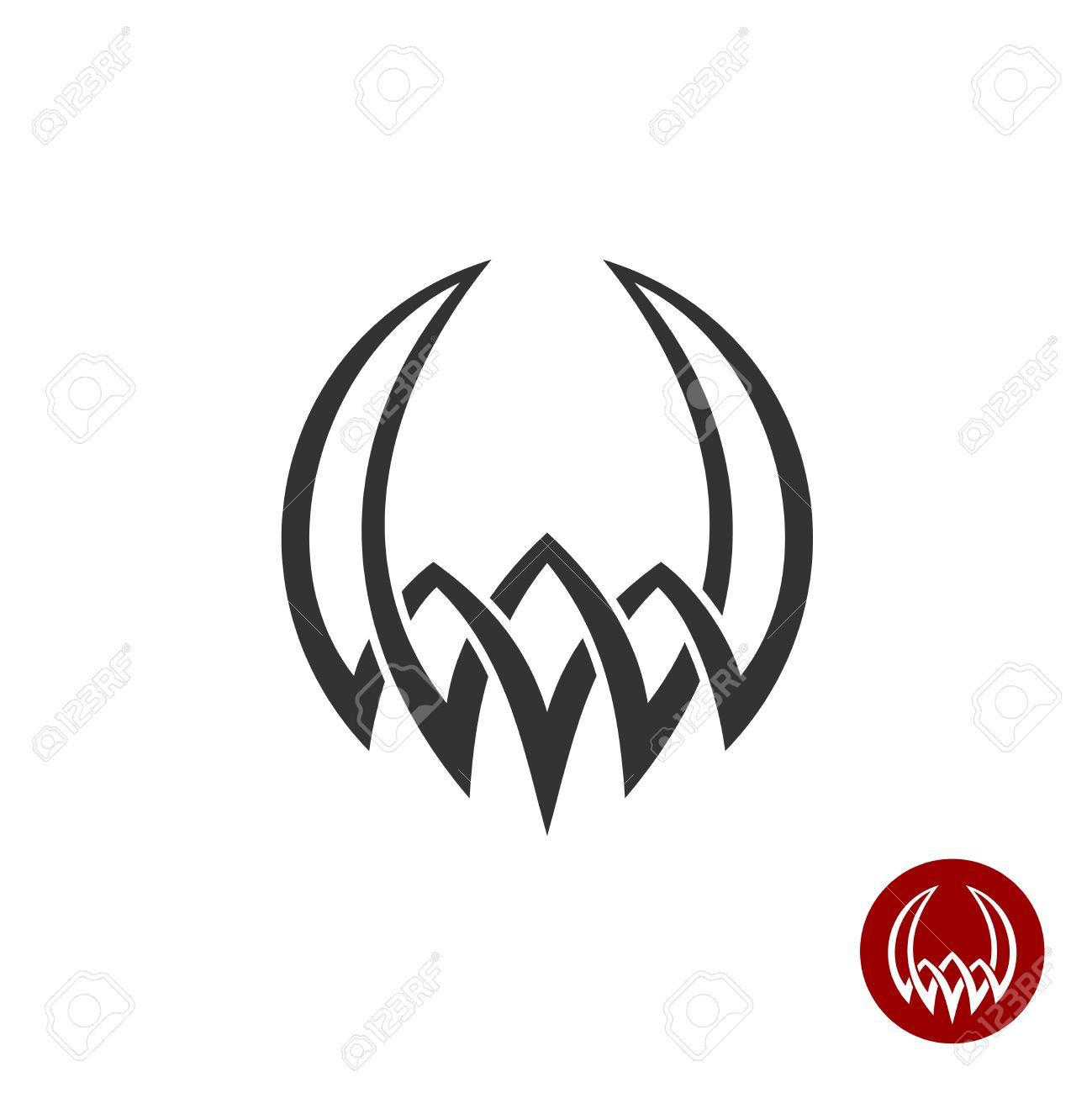 Demon Tattoo Logo Images For Tatouage