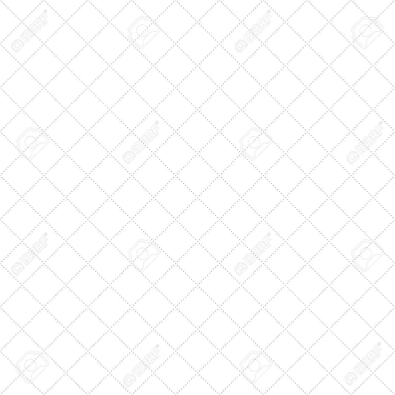 Líneas Diagonales De Puntos De Encaje Sin Patrón Neta. Líneas Negras ...