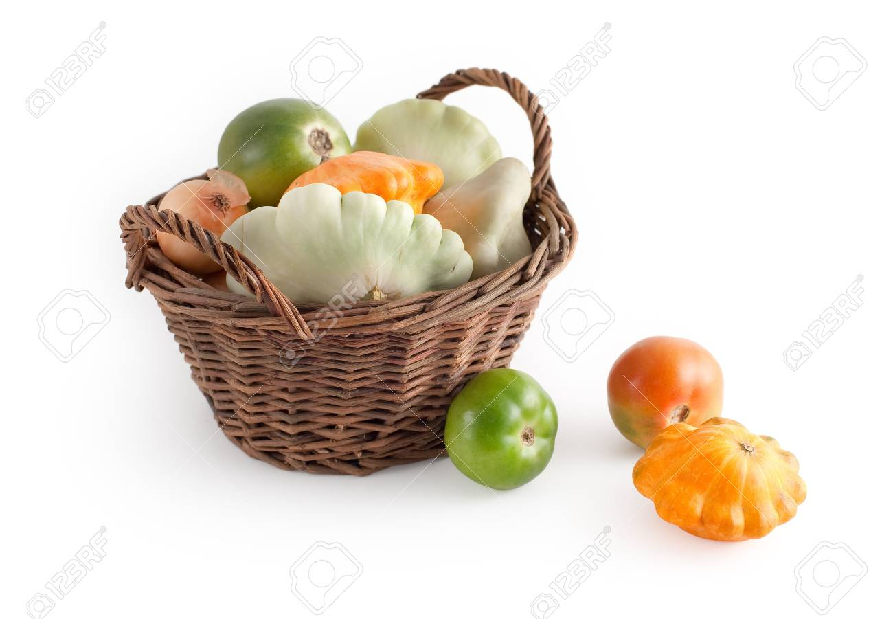 Basket with autumn vegetables Stock Photo - 5768799