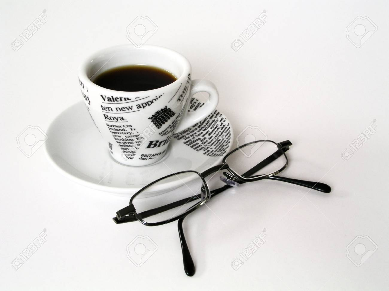Coffe Cup with glasses Stock Photo - 303940