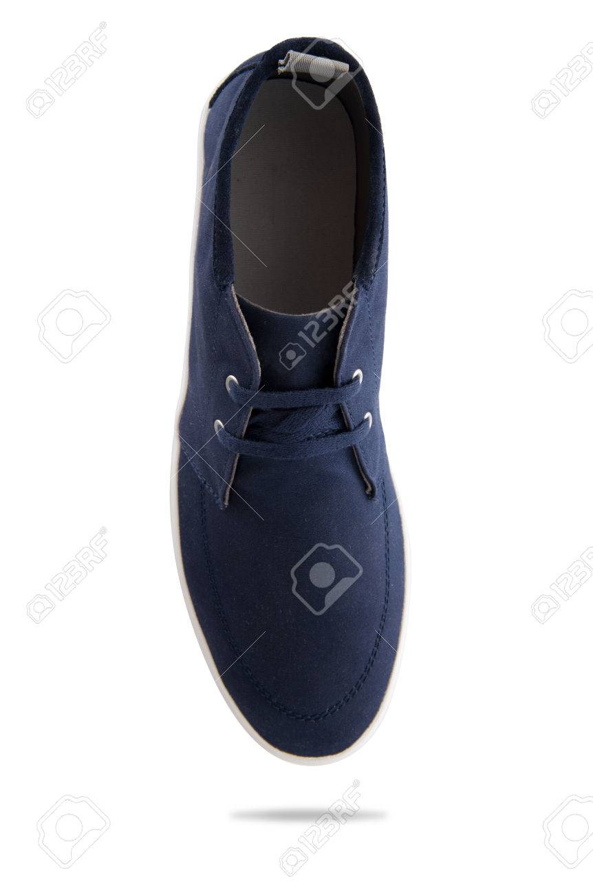 df98e06ed21 Blue Fashion Men s Shoes With Top View Profile