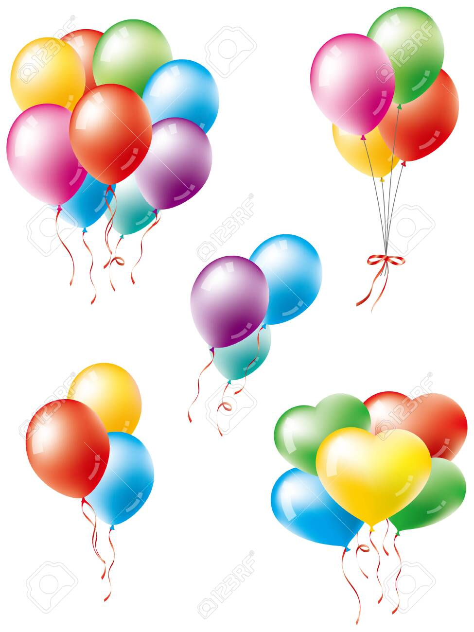 Various balloon variations - 137734009