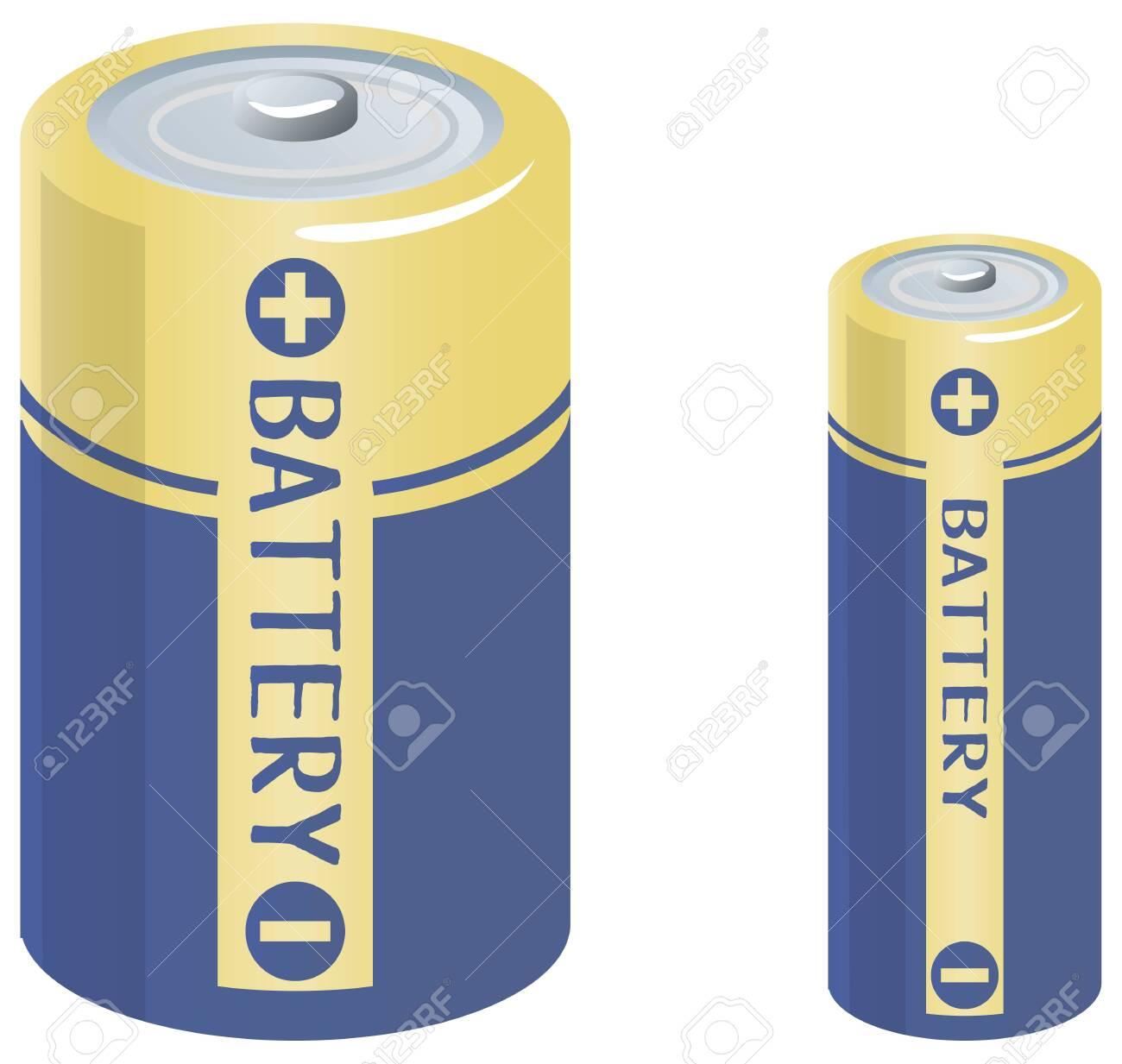Image illustration of batteries - 137941862