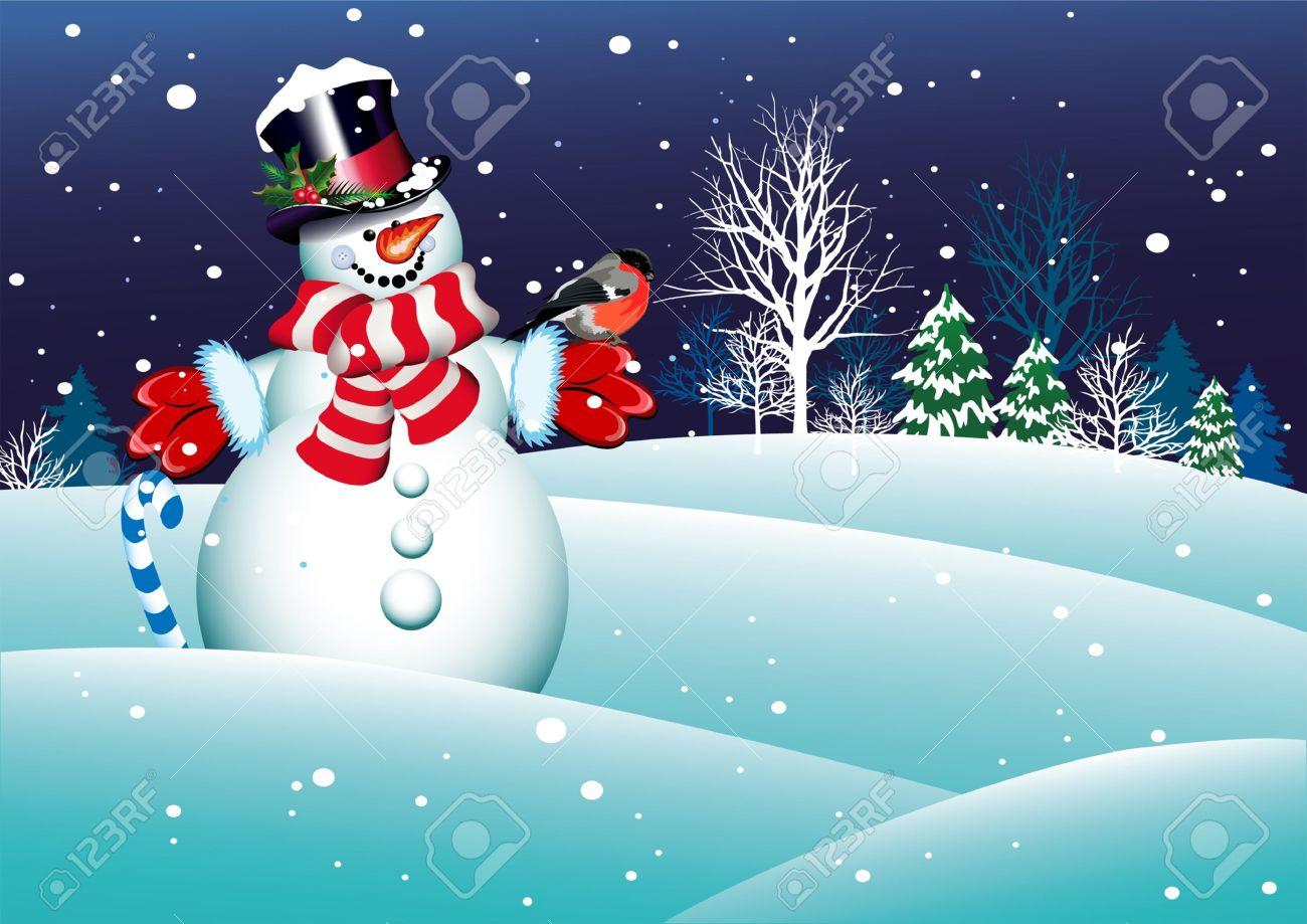 Weihnachten Schneemann Für Ihr Design Lizenzfrei Nutzbare ...