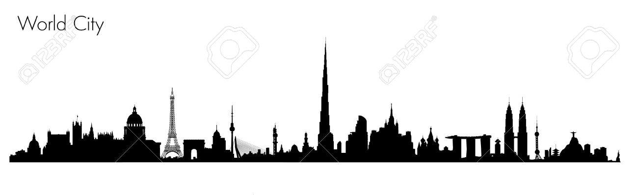 Vector World Monuments. Detailed illustration of most famous buildings - 52966709