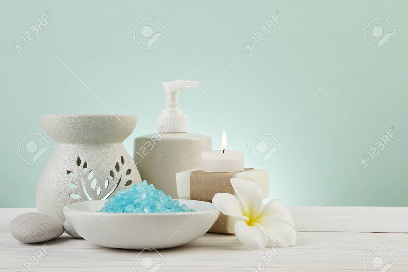 Decoration De Spa à belle composition de concept de décoration de traitement de spa sur