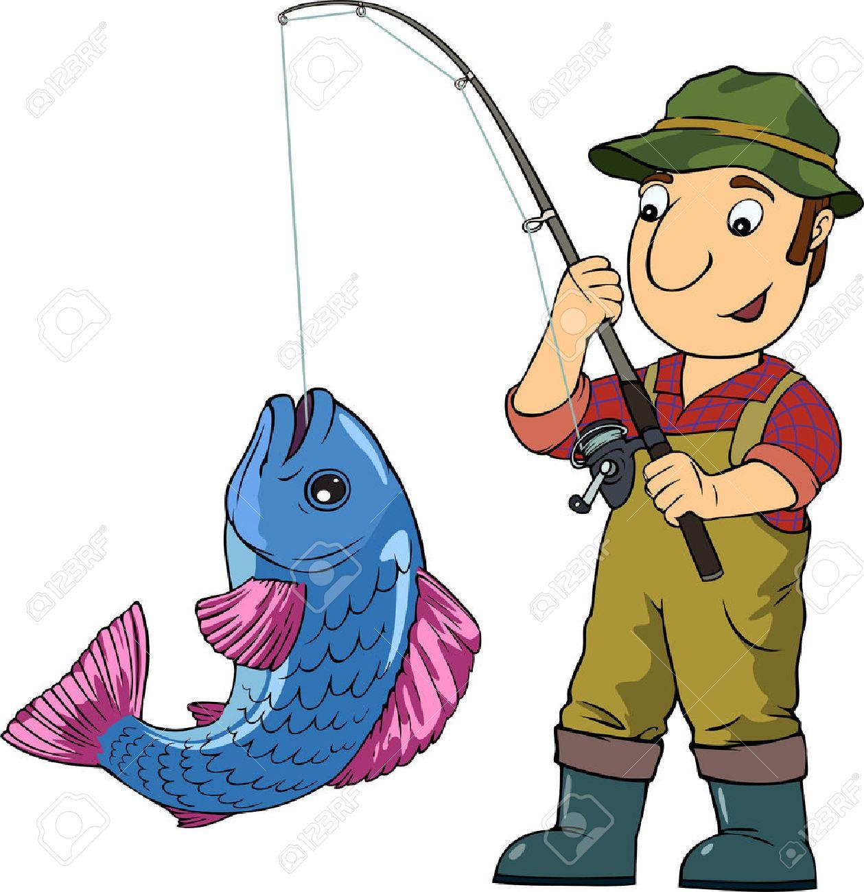 Resultado de imagen de dibujos el pescador
