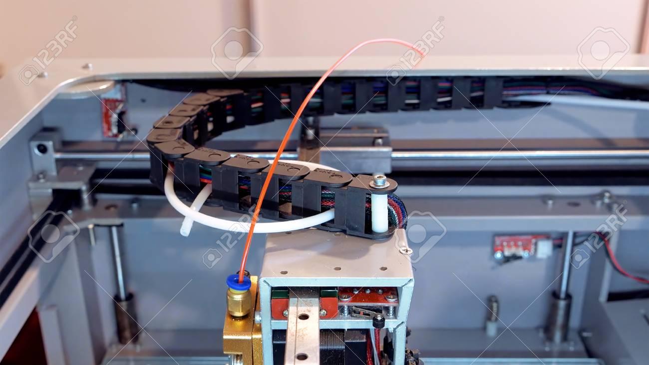 Automatic Robotics Mechanical Equipment In Scientific Laboratory