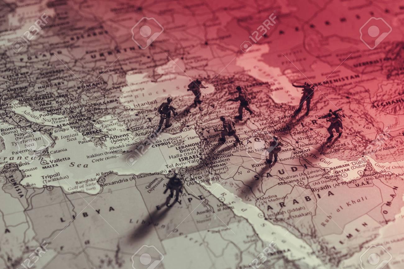 中東の対立。概念的な写真 の写真素材・画像素材 Image 63482456.