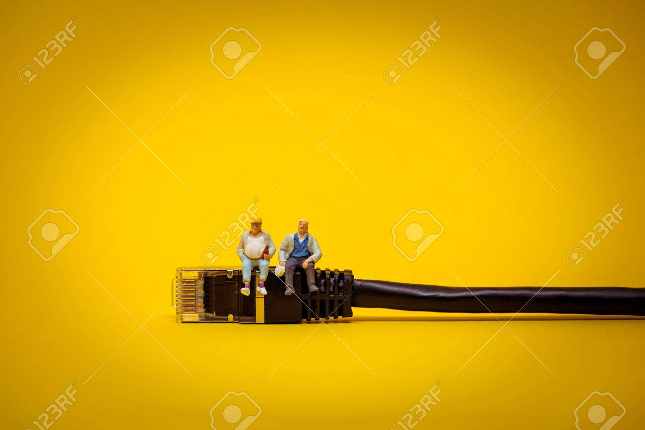 Relaxing support team. Technology concept. - 63602143