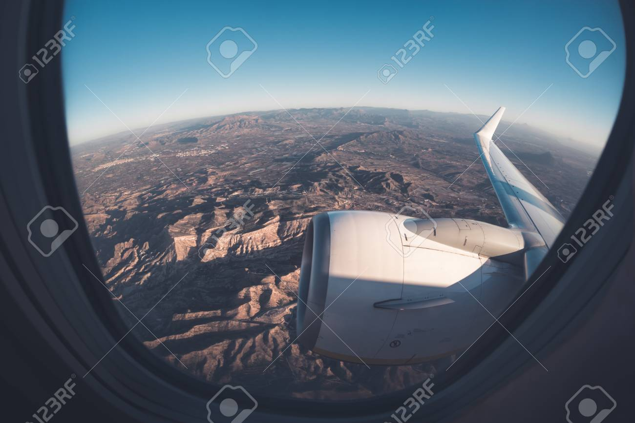 Superb Mountainous Window Seat View From Airplane Beatyapartments Chair Design Images Beatyapartmentscom