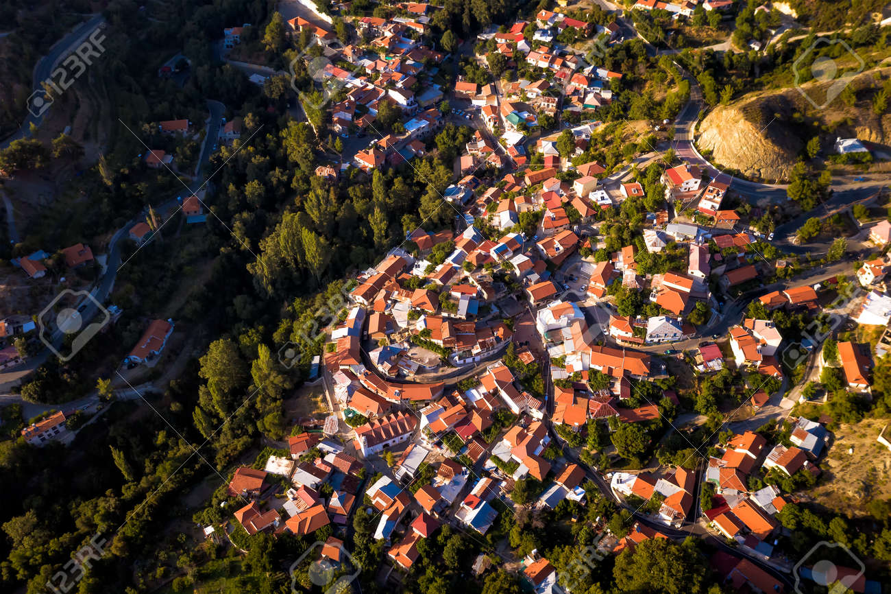 Top view of Foini village and surroundings - 150716837