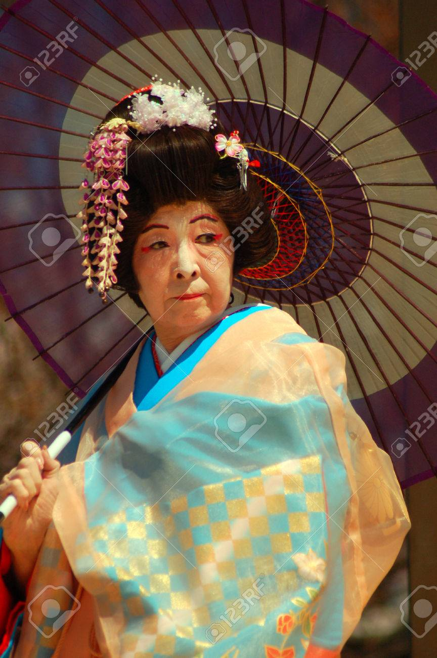 Traditionnelle Traditionnelle Traditionnelle En Robe Femme D'images Banque Et Japonaise Âgée Âgée Âgée EFCgOfq