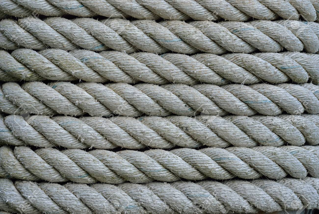 A close up of the old rope. Stock Photo - 16530884