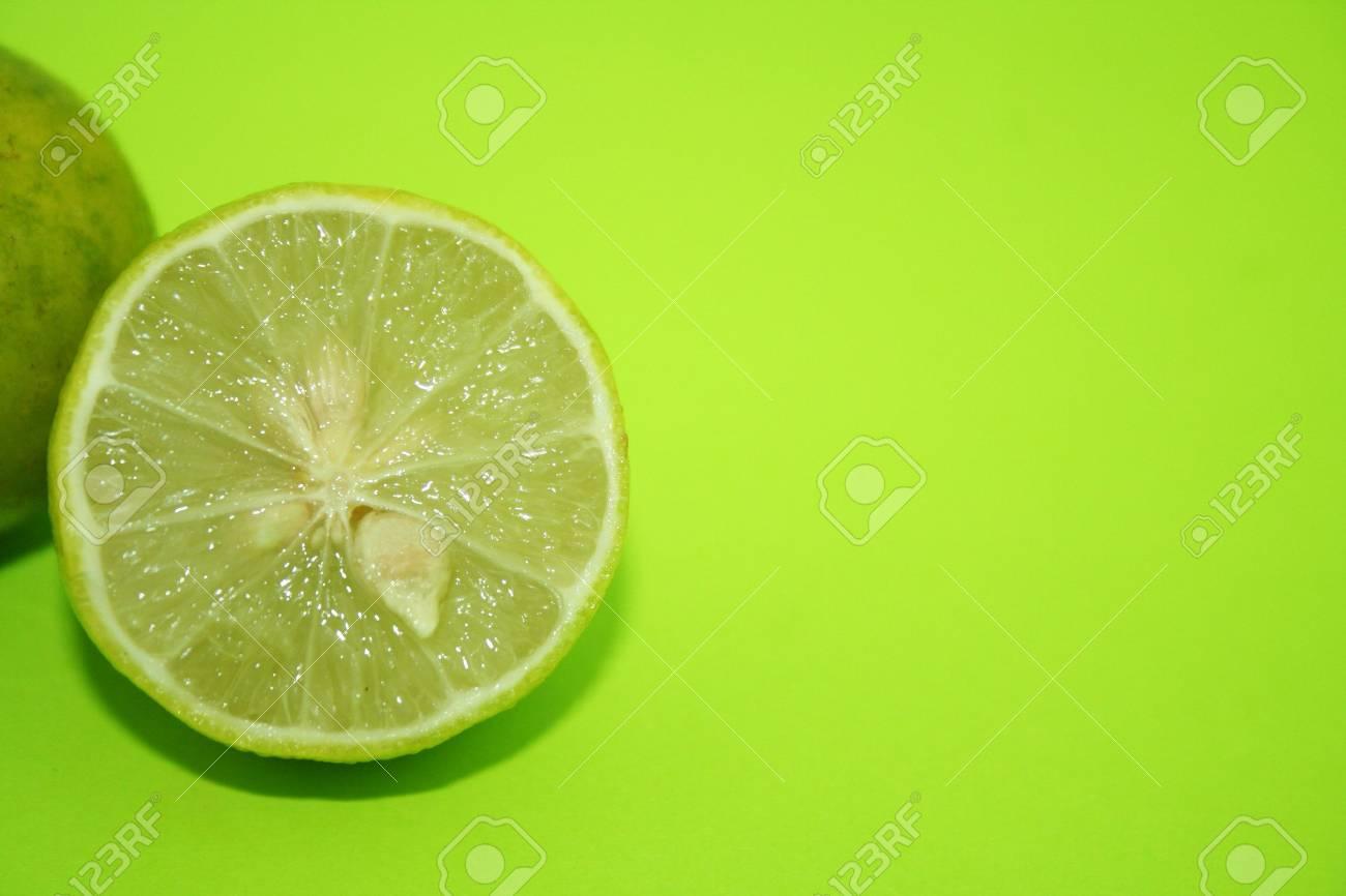Fresh Lime Stock Photo - 492843