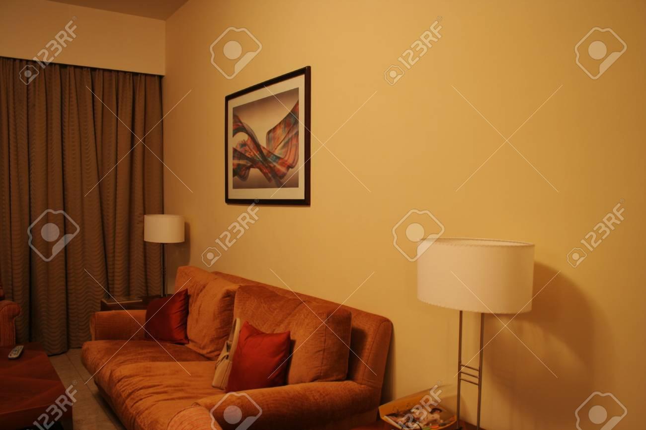Interior - Living Room Stock Photo - 737379