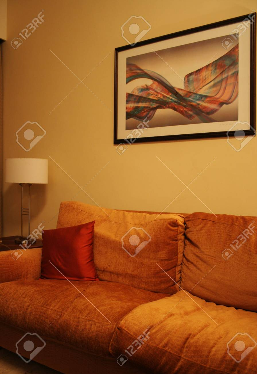 Interior - Living Room Stock Photo - 737380