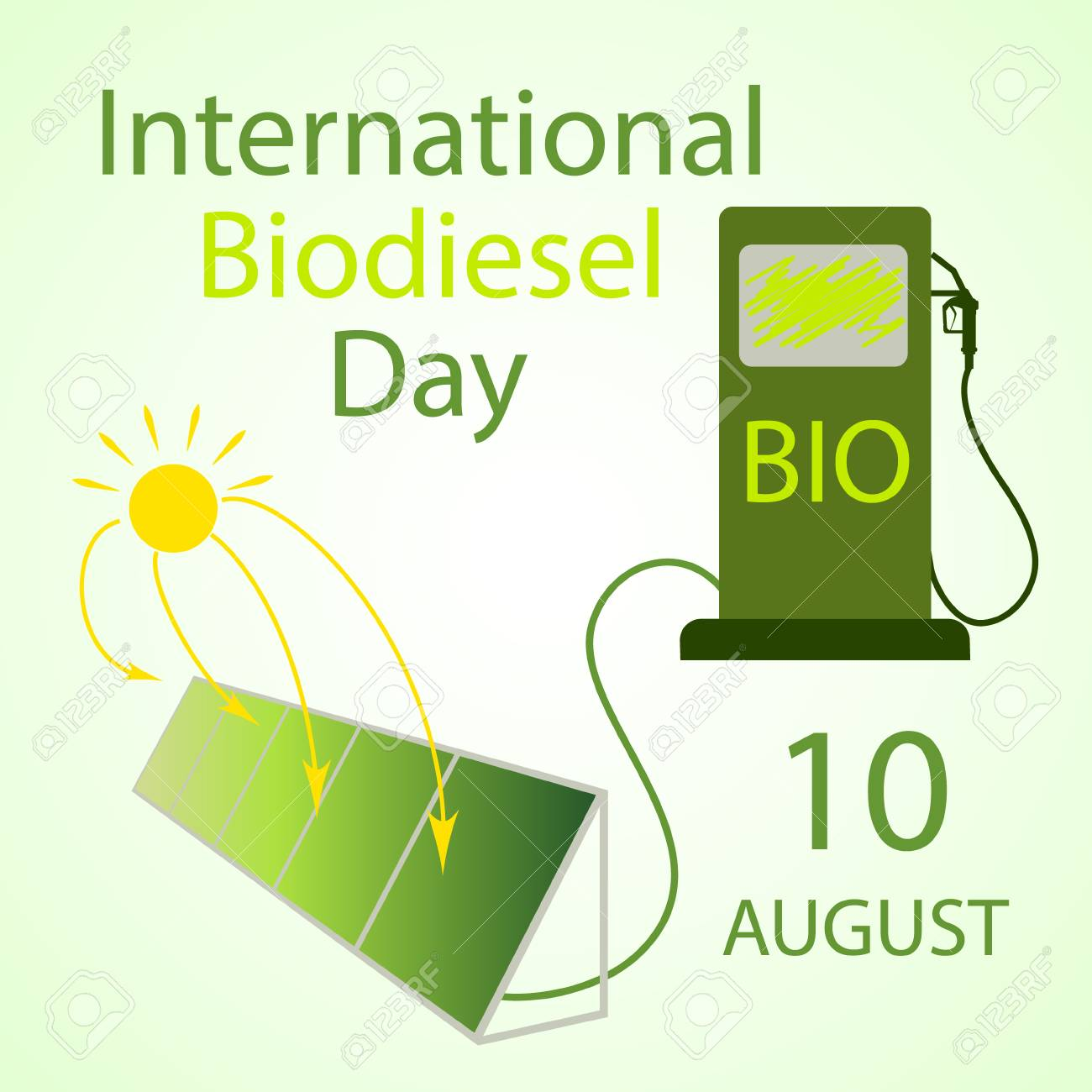 International Biodiseasel Day - 10 August  IMAGES, GIF, ANIMATED GIF, WALLPAPER, STICKER FOR WHATSAPP & FACEBOOK