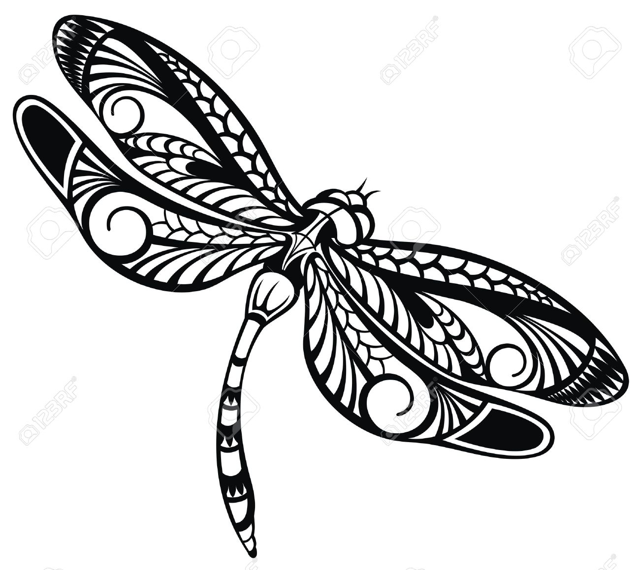 9,180 Dragonfly Cliparts, Stock Vector And Royalty Free Dragonfly ...