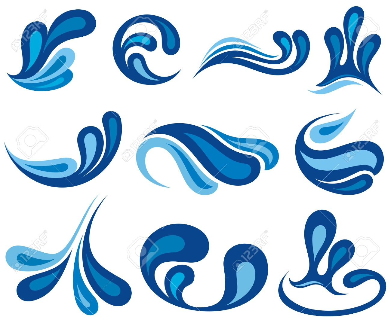 splash water drops royalty free cliparts vectors and stock rh 123rf com water splash clipart free splash water clipart