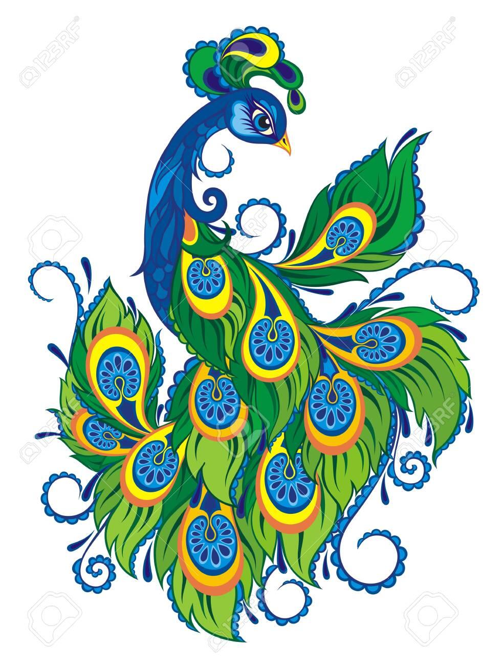 peacock bird beautiful peacock cartoon royalty free cliparts vectors and stock illustration image 147440737 123rf com