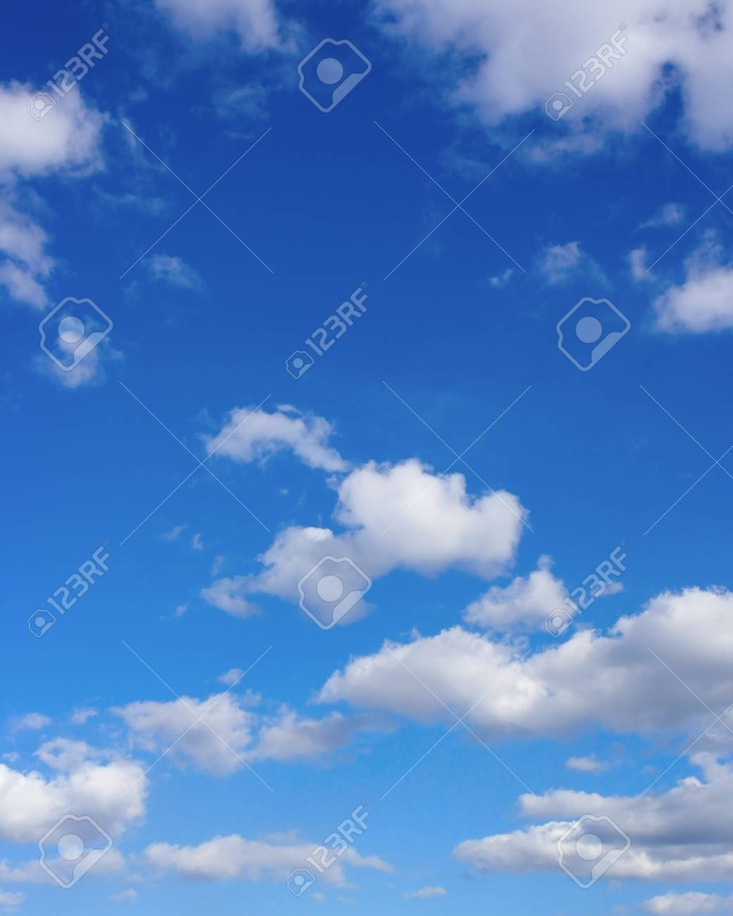 Beautiful blue sky with clouds - 23769743