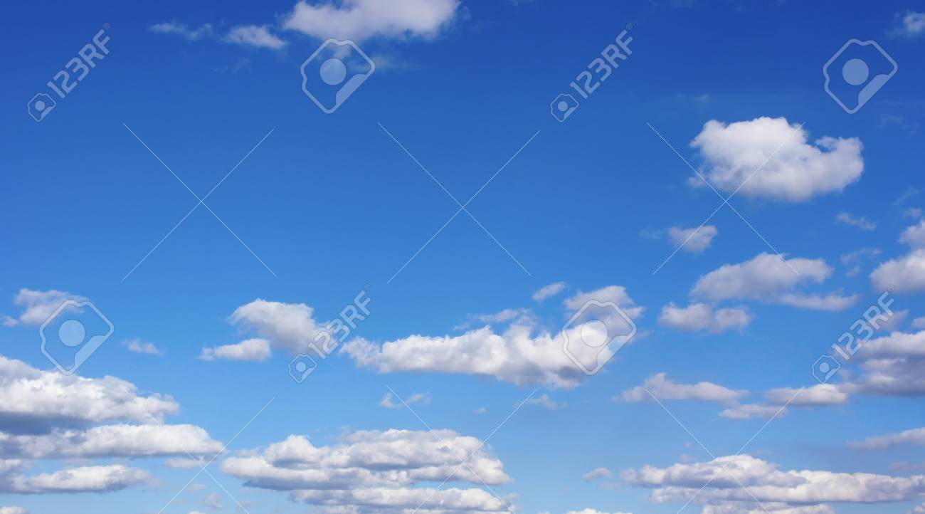 Beautiful blue sky with clouds - 23769745