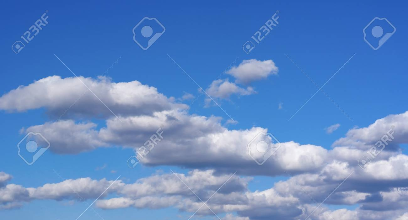 Beautiful blue sky with clouds - 23769829