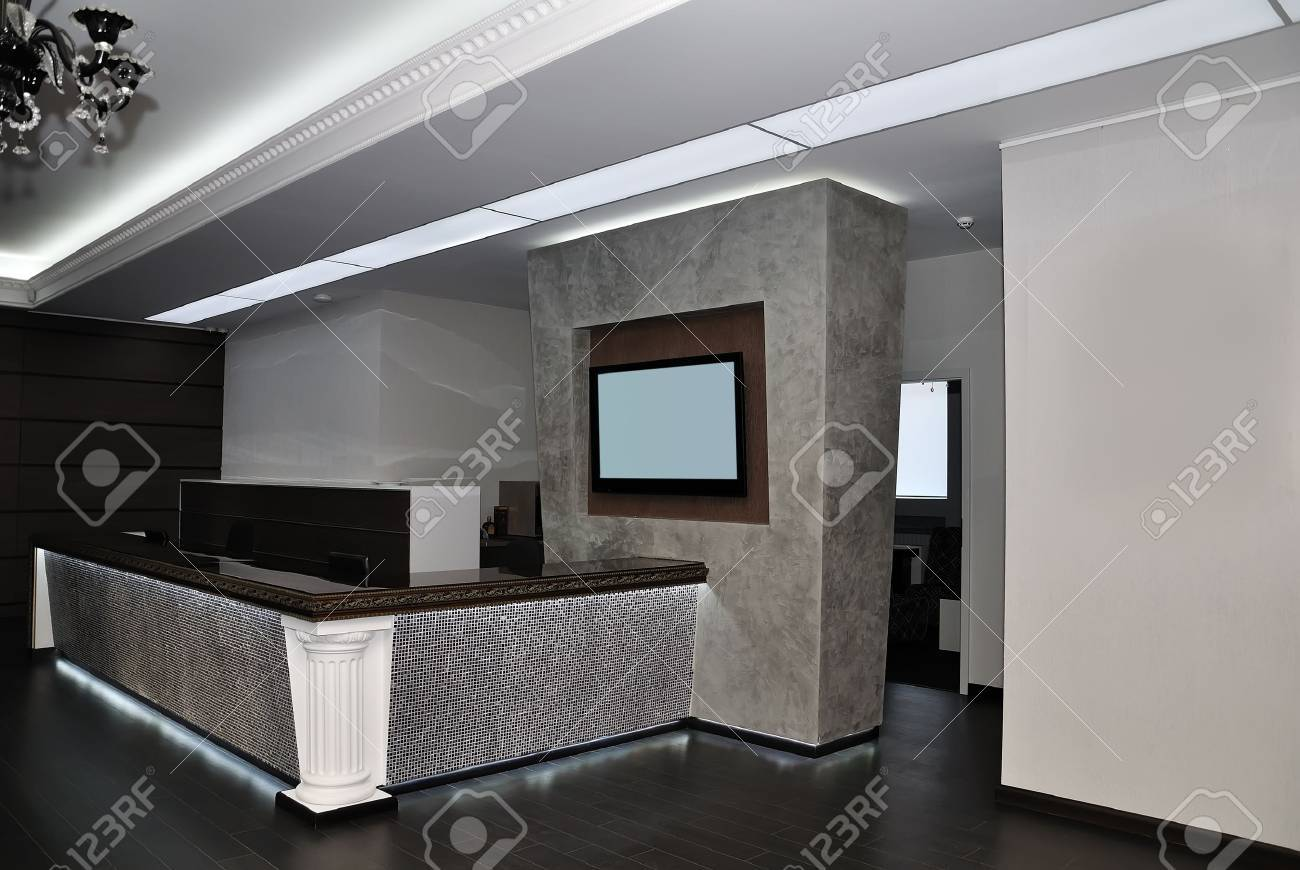 modern Hall in Aparthotel Stock Photo - 11829398