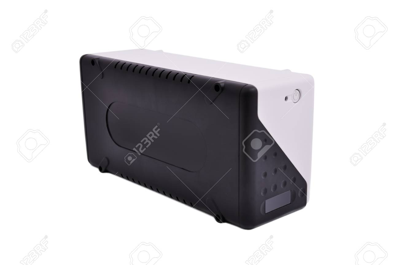 uninterruptible power supply on a white background Stock Photo - 12441278