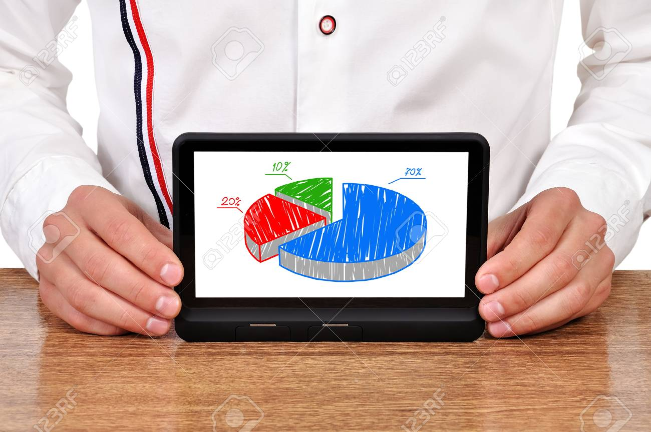 plan business strategy on digital tablet Stock Photo - 16928413