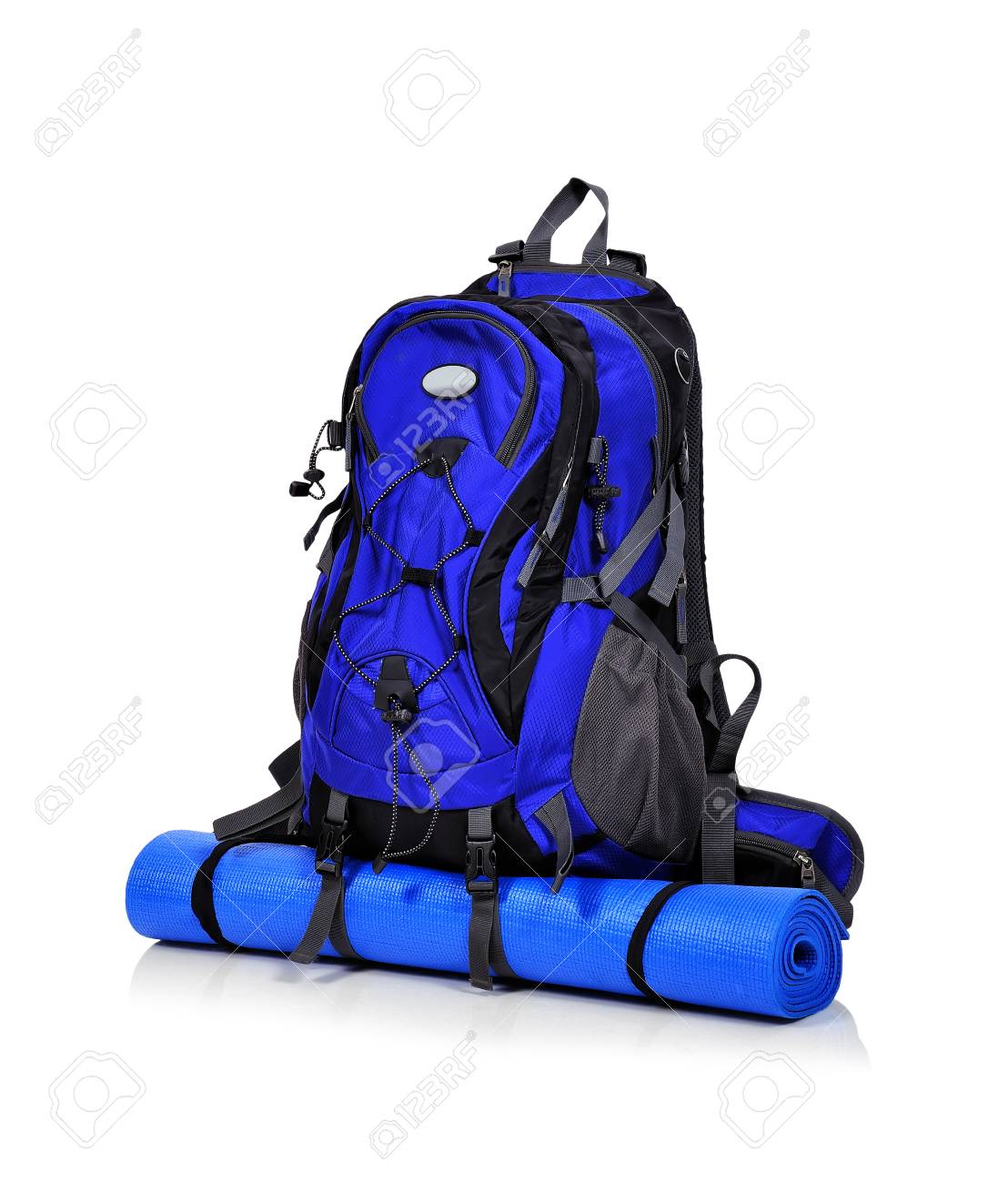 tourist backpack isolated on a white background Stock Photo - 34583045 280f05fc44f38