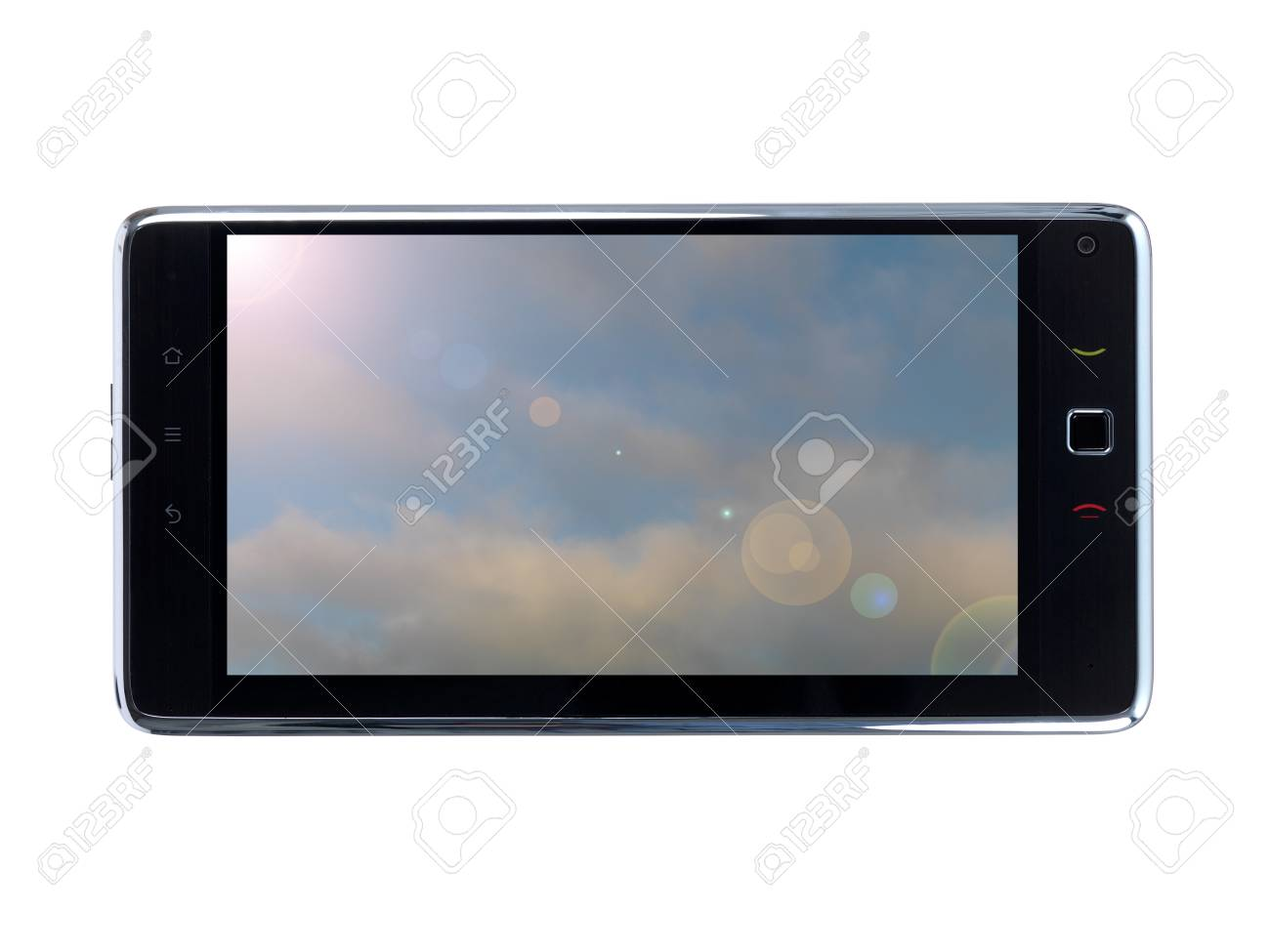 pc tablet isolated against a white background Stock Photo - 8446530