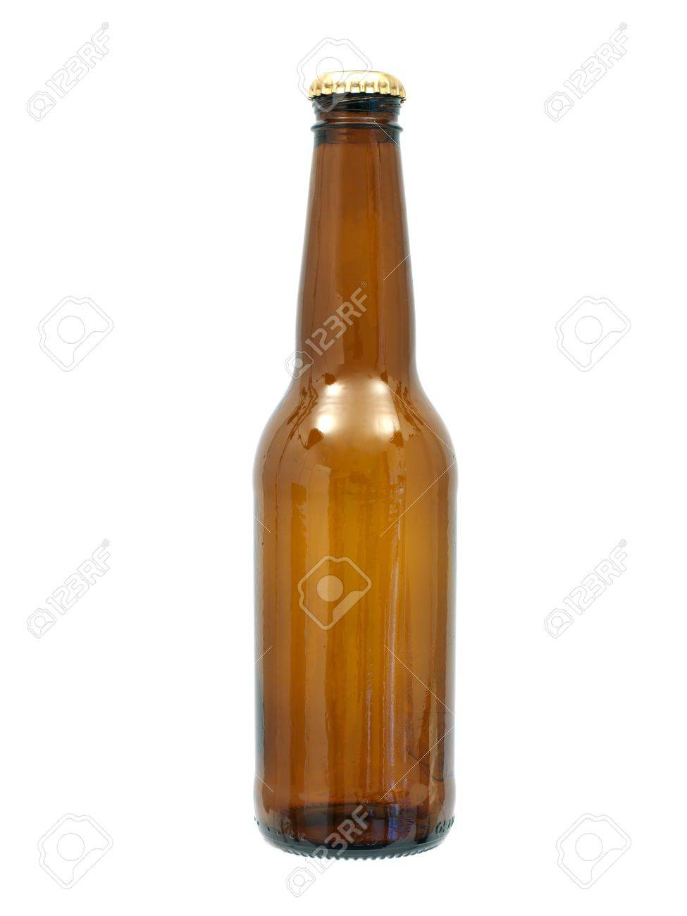 Bottles of beer isolated against a white background Stock Photo - 10012074