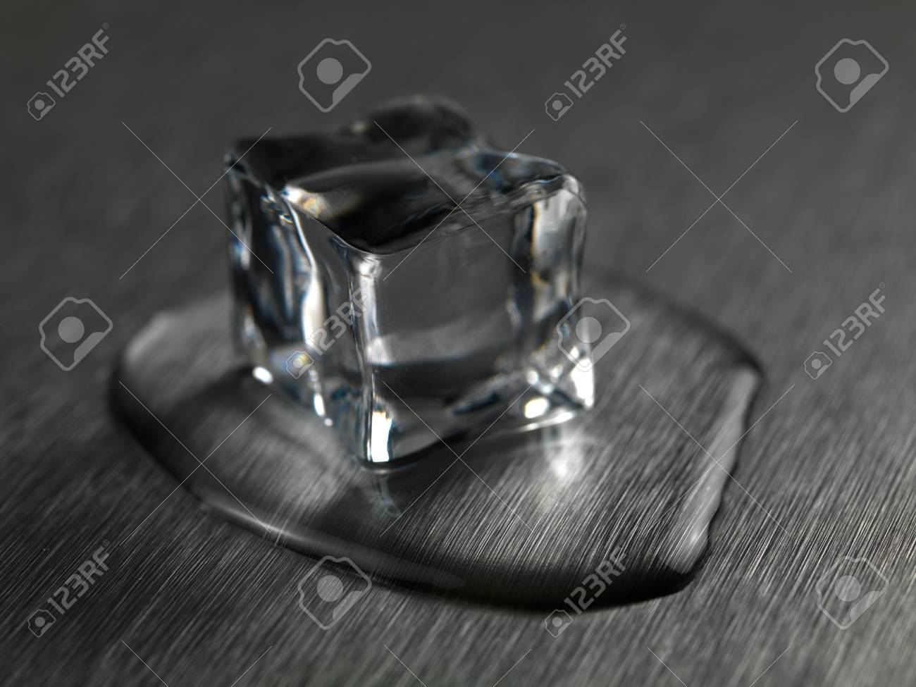 Astonishing Frozen Ice Cubes Isolated On A Kitchen Bench Pdpeps Interior Chair Design Pdpepsorg