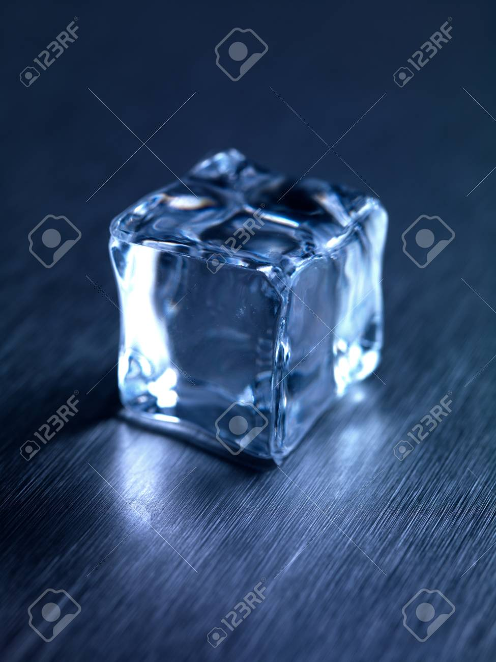 Wondrous Frozen Ice Cubes Isolated On A Kitchen Bench Pdpeps Interior Chair Design Pdpepsorg
