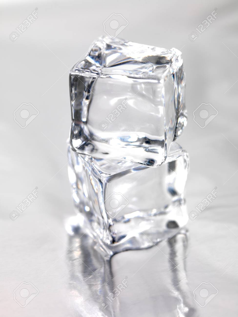 Tremendous Frozen Ice Cubes Isolated On A Kitchen Bench Pdpeps Interior Chair Design Pdpepsorg