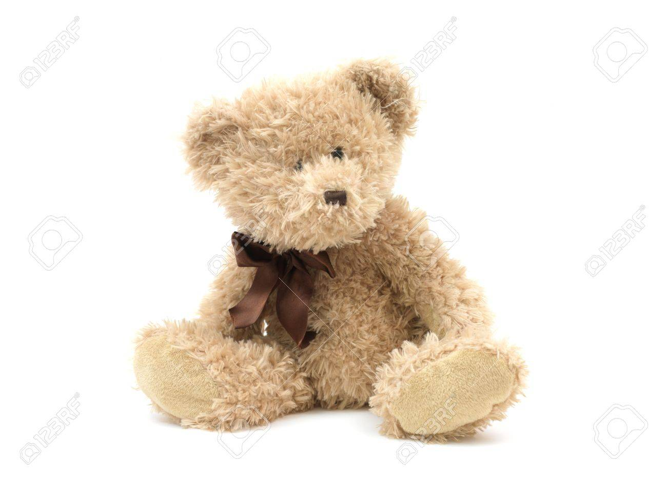 A teddy bear isolated against a white background Stock Photo - 10614191