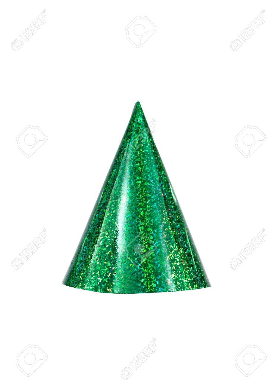 Party hats isolated against a white background Stock Photo - 10656027