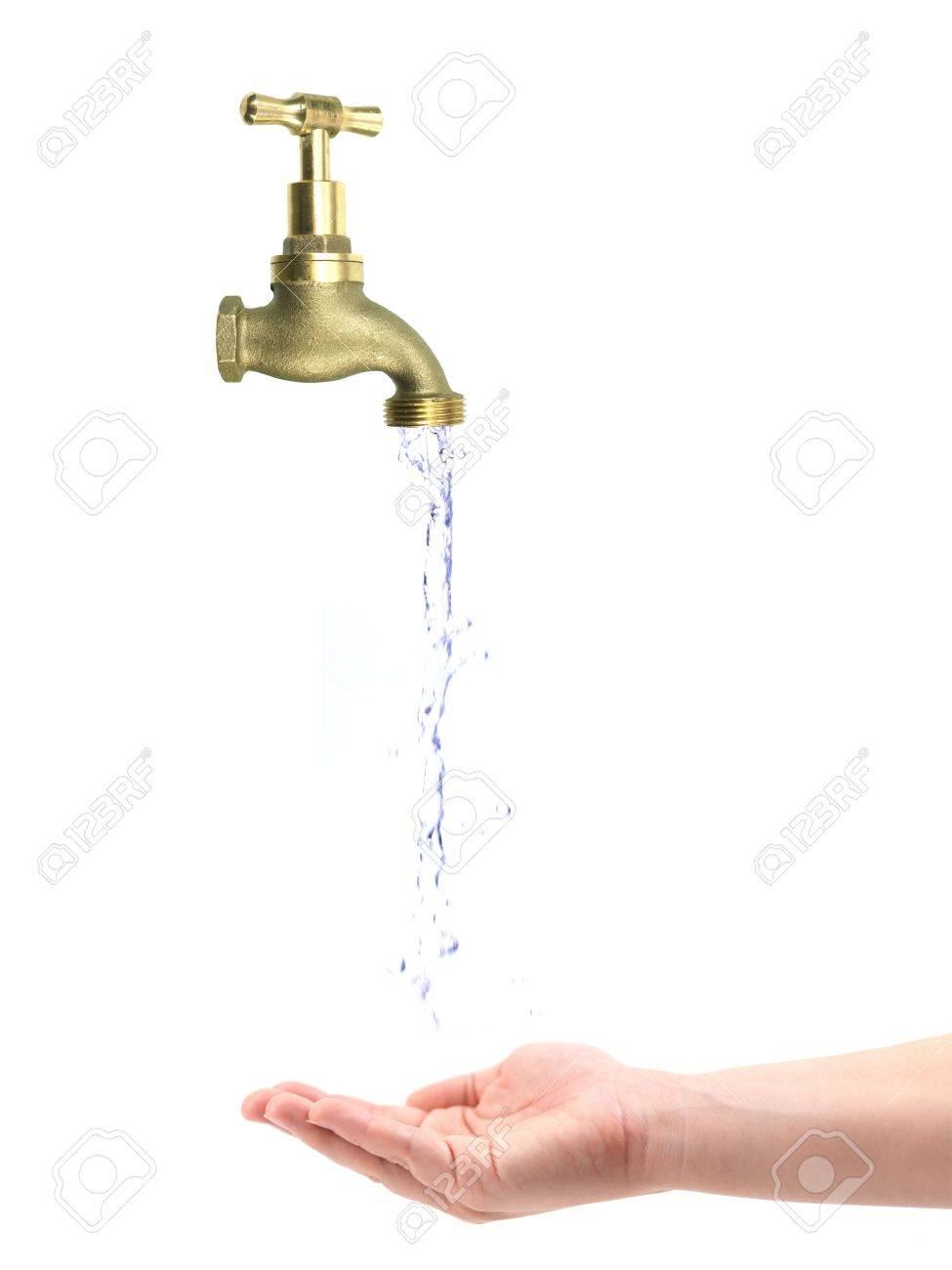 A tap isolated against a white background Stock Photo - 10932548