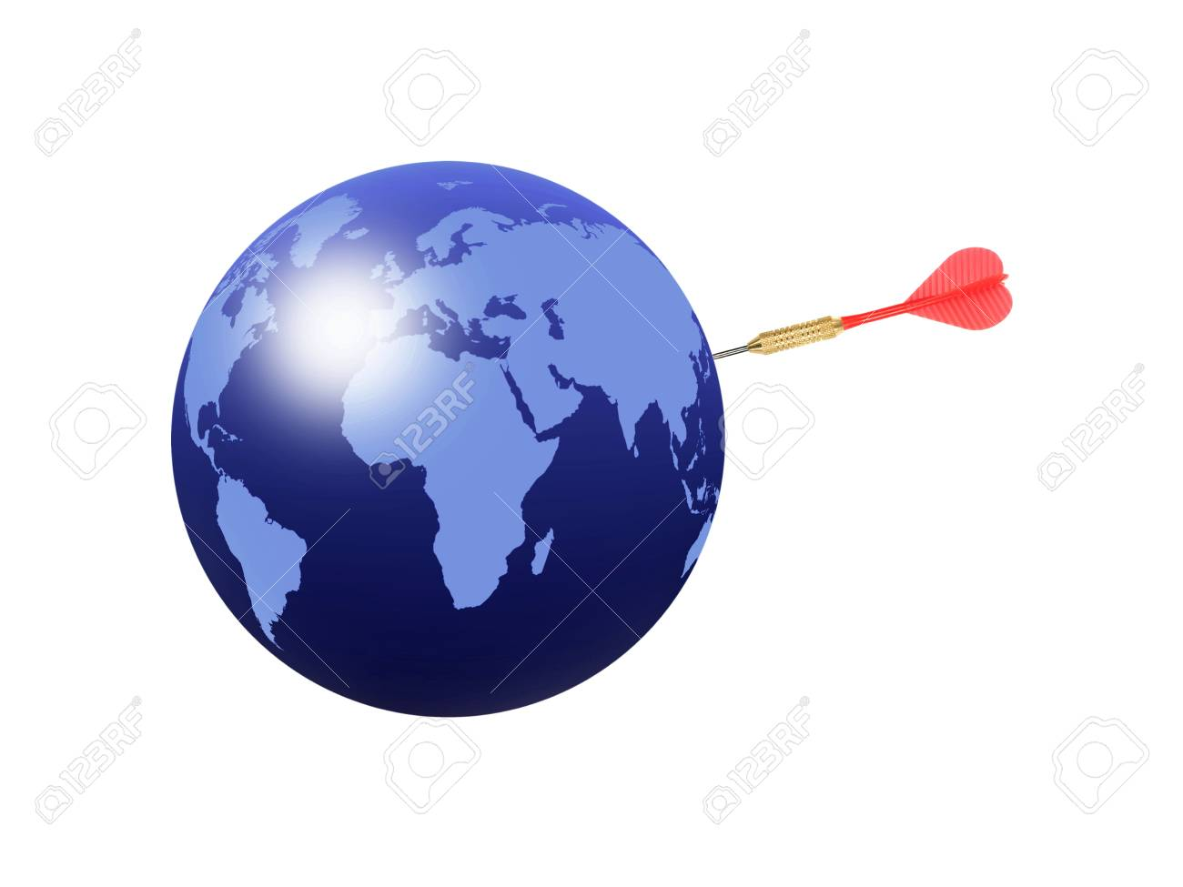 A creative world map abstract background file Stock Photo - 13540104