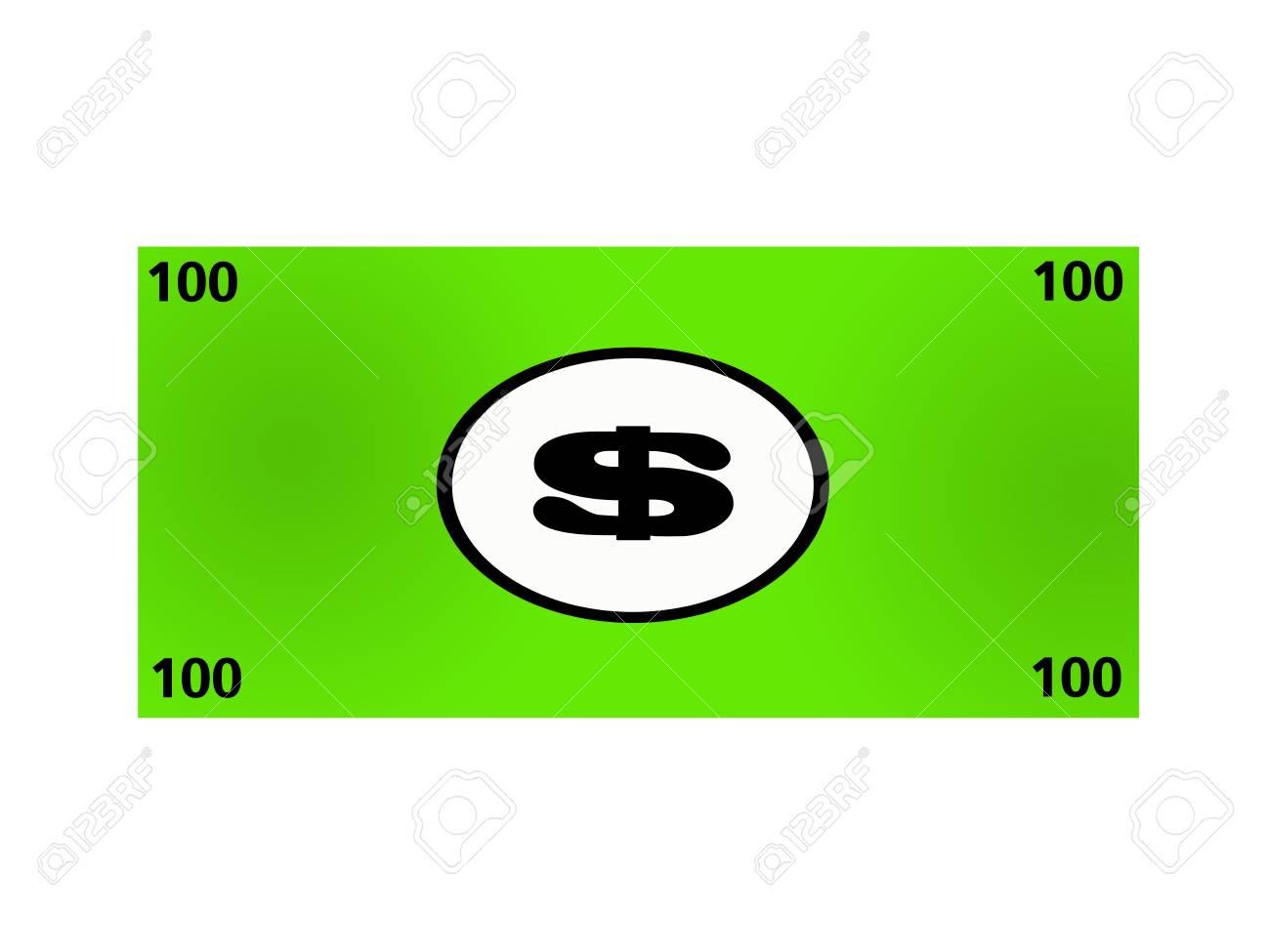 An illustration of poker money on a white background Stock Illustration - 18987157